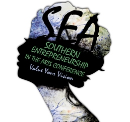 Southern Entrepreneurship in the Arts Conference 2015 logo