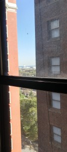 Look, you can see Navy Pier from my Hilton room! (if you lean over and look hard)
