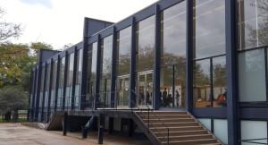 Mies van der Rohe's Crown Hall, the IIT architecture school