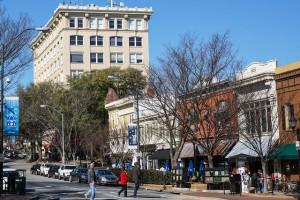 Athens GA street scene