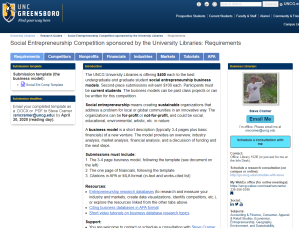 Competition libguide
