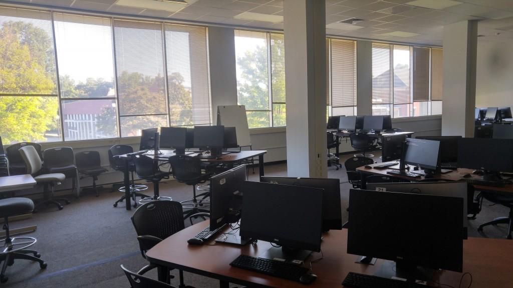 UNCG  library classroom