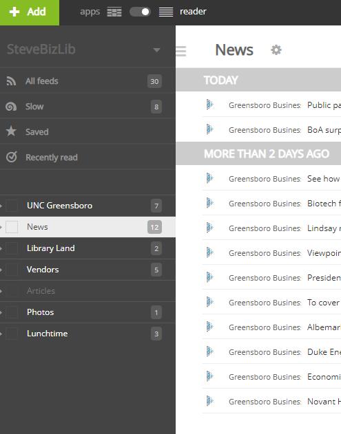 NetVibes screenshot